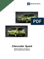 Chevrolet Spark 2010 informacion de taller