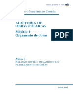 Auditoria de Obras Publicas Modulo 1 Aula 5