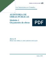 Auditoria de Obras Publicas Modulo 1 Aula 6