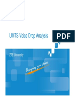 4 UMTS CS Call Drop Analysis