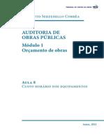 Auditoria de Obras Publicas Modulo 1 Aula 8