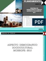 Aspecto Sociocultural - Morrope - Lambayeque