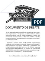 JATARI ÑAHUI / Documento de Debate