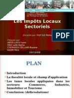 11- Les Impôts Locaux Sectoriels