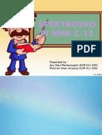 C-13 NMR KLP
