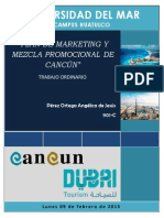 Plan de Marketing Cancun