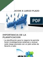 Planificacion a Largo Plazo