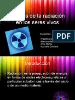 Efectos de La Radiacion