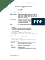 RPP Pembelajaran Inovatif Bahasa Inggris Kelas XII Th.09-10