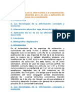 tema 6 las tecnologias de la informacion y la comunicacion.intervencion educativa para su uso y aplicacion en las diferentes areas de conocimiento