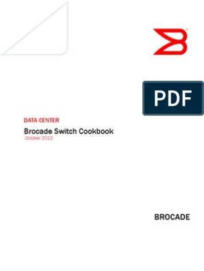 Brocade Switch Cookbook: Data Center