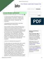 Advogato_ Numeración Versión Locura