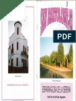 Programa Fiestas San Bartolomé 1993