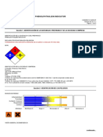 Phenolphthalein Indicator 4913-97 v5 1 1 1 Nov-28-2012 Argentina-spanish on Mar-17-2013