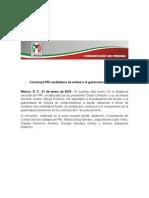 21-01-15 Construye PRI Candidatura de Unidad a La Gubernatura de Sonora