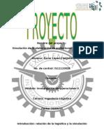 Proyecto IO II Simulacion de Un Sistema