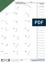 determining angle visually