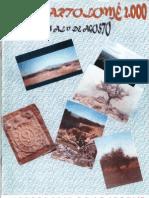 Programa Fiestas San Bartolomé 2000