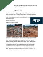 Acoes Desenvolvidas Pela Secretaria m Ambiente