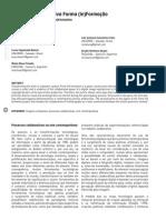 Produção colaborativa Forma (in)Formação