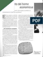Caille, Alain - El Nacimiento Del Homo Economicus
