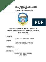 CLASES DE CABLE Y CIRCUITOS