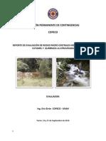 Reporte Evaluacion de Riesgo en Microcentrales Hidroelectricas