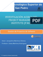 Investigacion PMI