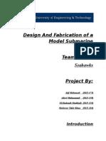 Submarine Design Report