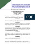 G.O N° 40.011. Resolución N° 120823-511