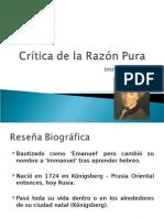 Kant - Introducción a la Crítica a La Razón Pura FINAL
