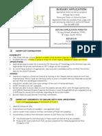 Bursary Application 2014