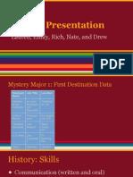 cns 120 majors presentation ppt