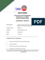 Solution for Q1 & 3 of Final Sem1 2010 2011