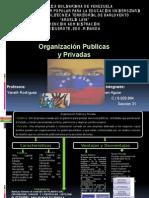 Org. Publicas y Privadas