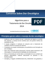 Treatment Algorithm Cancer Pain Pós Revisão