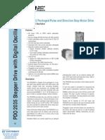 AMP PDO2035 Stepper Drive Specsheet