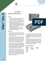 AMP SiNet Hub444 Specsheet