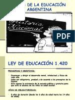 Leyes educativas en Argentina