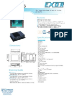 Exor EPC-1036 Datasheet