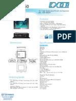 Exor EPC-1250 Datasheet