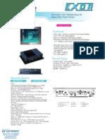 Exor EPF-1032 Datasheet