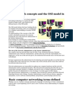 Basic Network Concepts and the OSI Model in Simple Terms