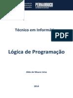 Vol 01 - Caderno de INFO EAD Pernambuco (Lógica de Programação)