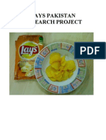 Lays Pakistan Research Project