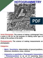 Aerial Photogrammetry