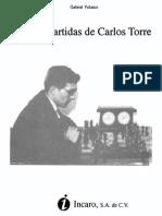 Vida y Partidas de Carlos Torre