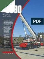 90 Ton Truck Crane
