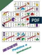 Domino de Fracciones Grafico