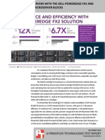 Consolidating Web servers with the Dell PowerEdge FX2 enclosure and PowerEdge FM120x4 micro server blocks